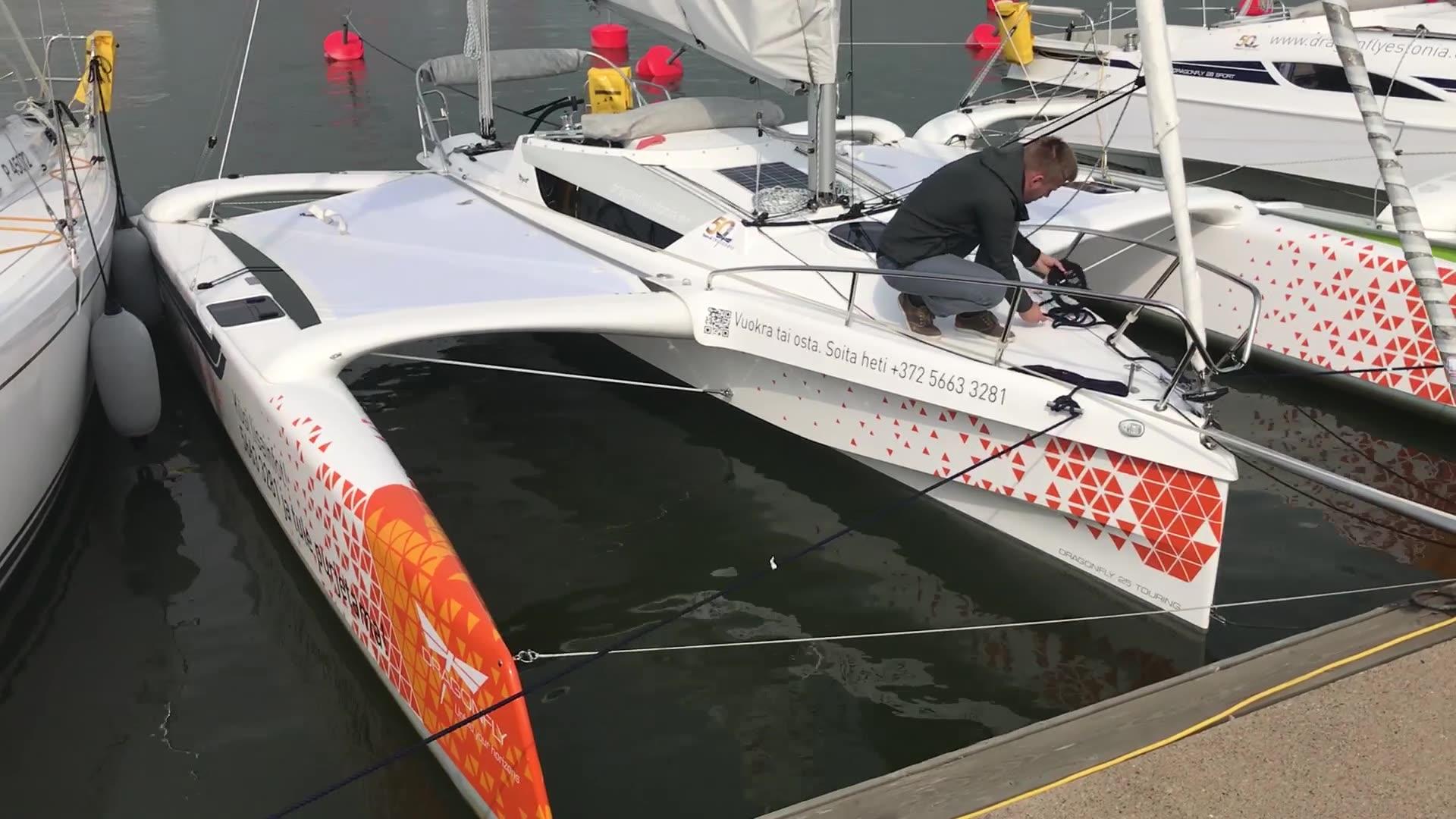 Uiva venenäyttely: Videoesittelyssä Dragonfly 25 Touring