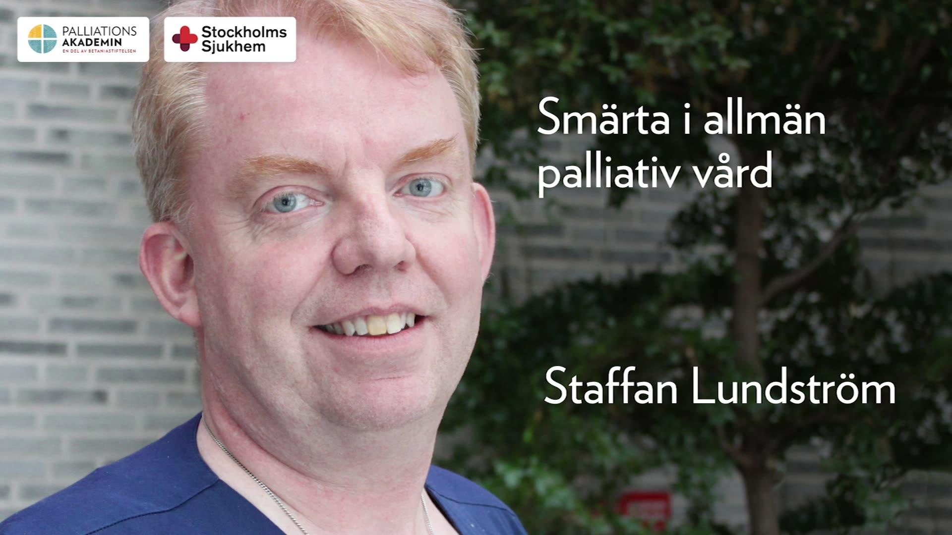 Smärta i palliativ vård
