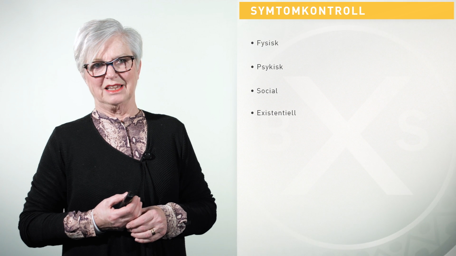 Symtomlindring i palliativ vård