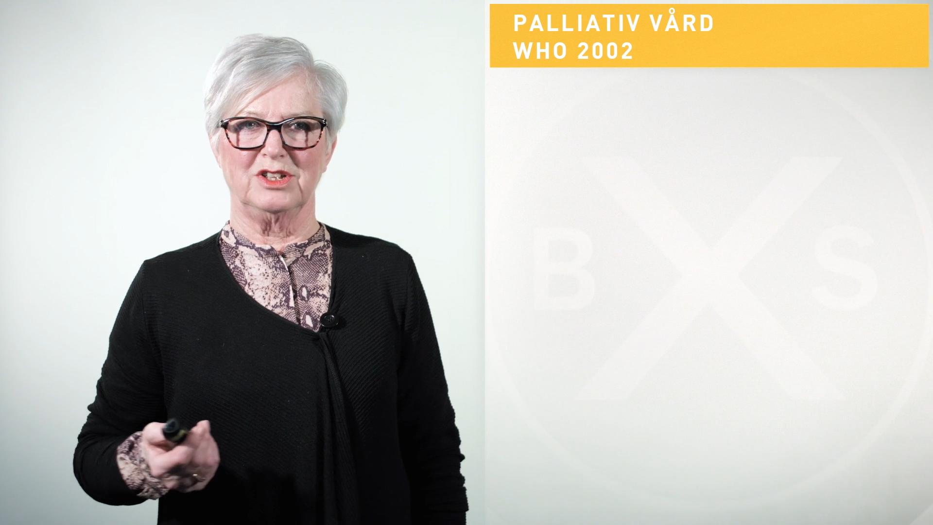 Palliativ vård i praktiken