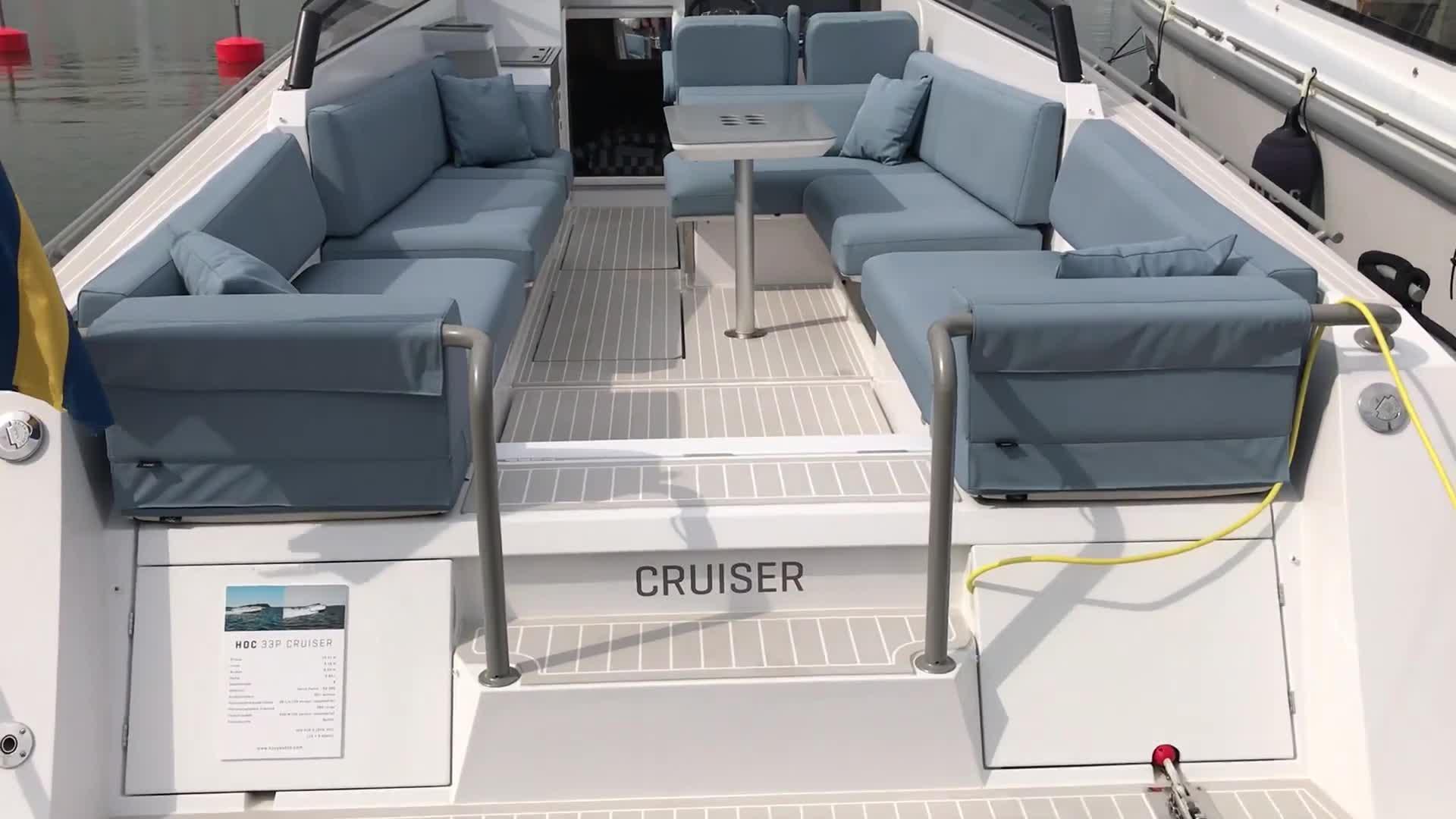 Uiva venenäyttely: Videoesittelyssä HOC 33P