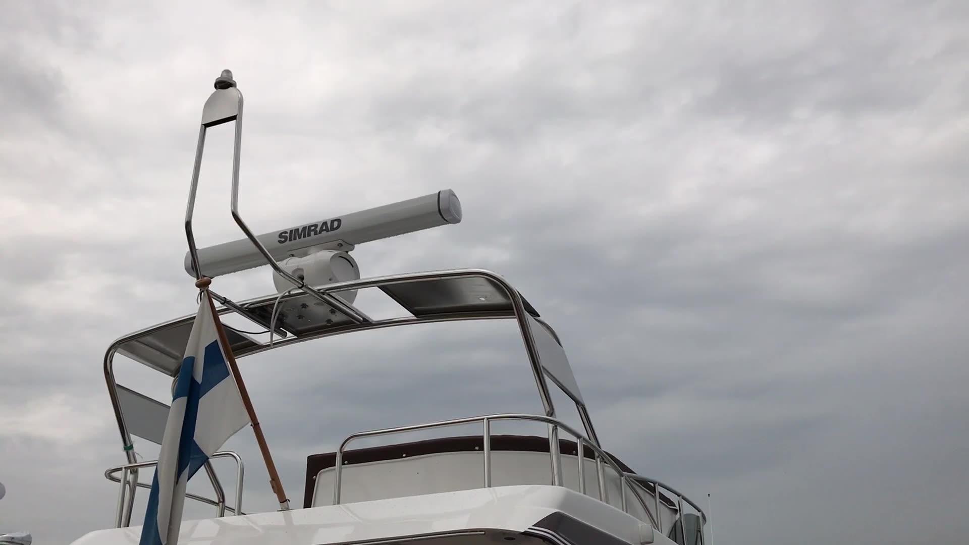 Uiva venenäyttely: Videoesittelyssä Nord Star 34 Fly