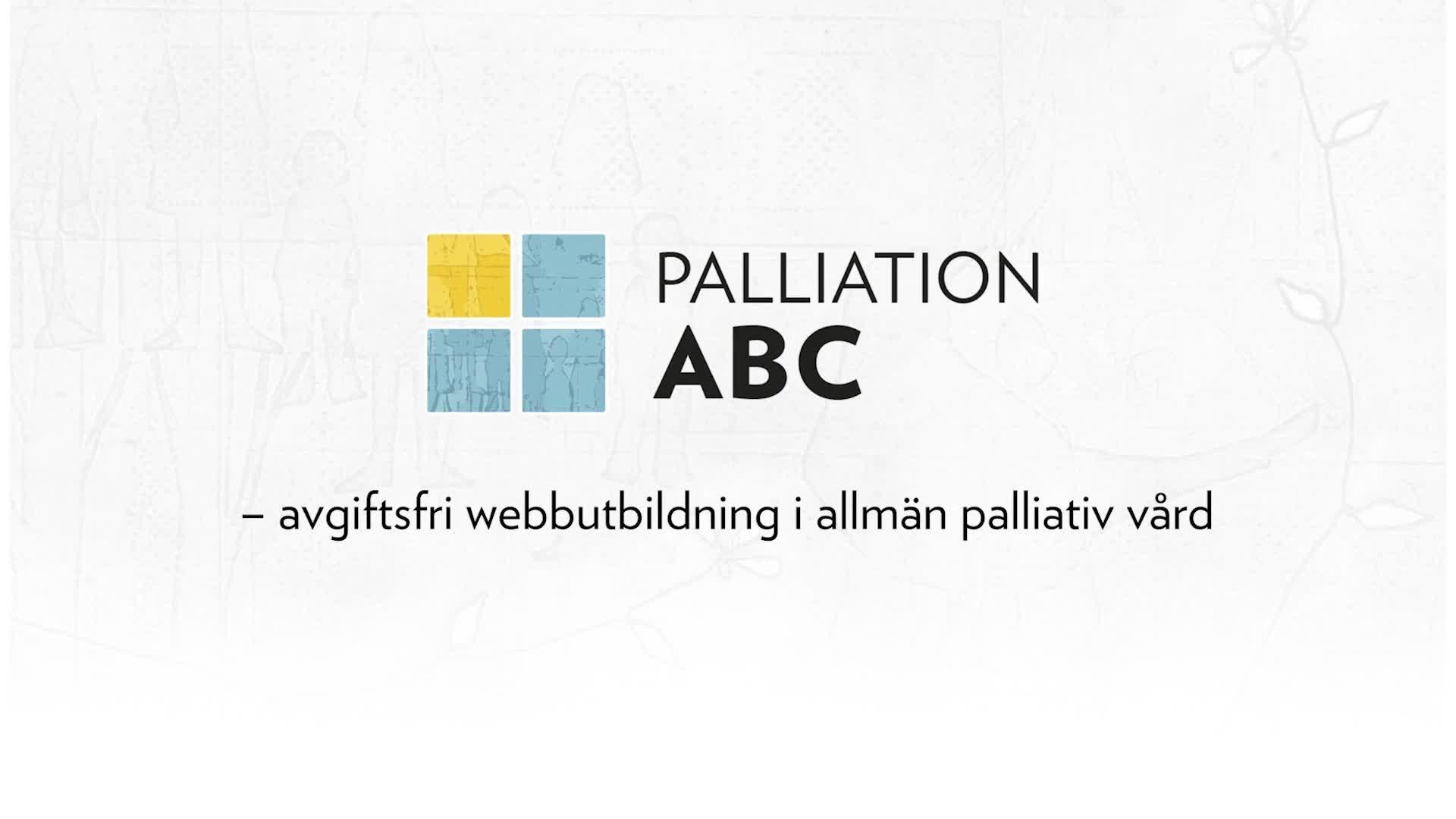 Trailer om Palliation ABC