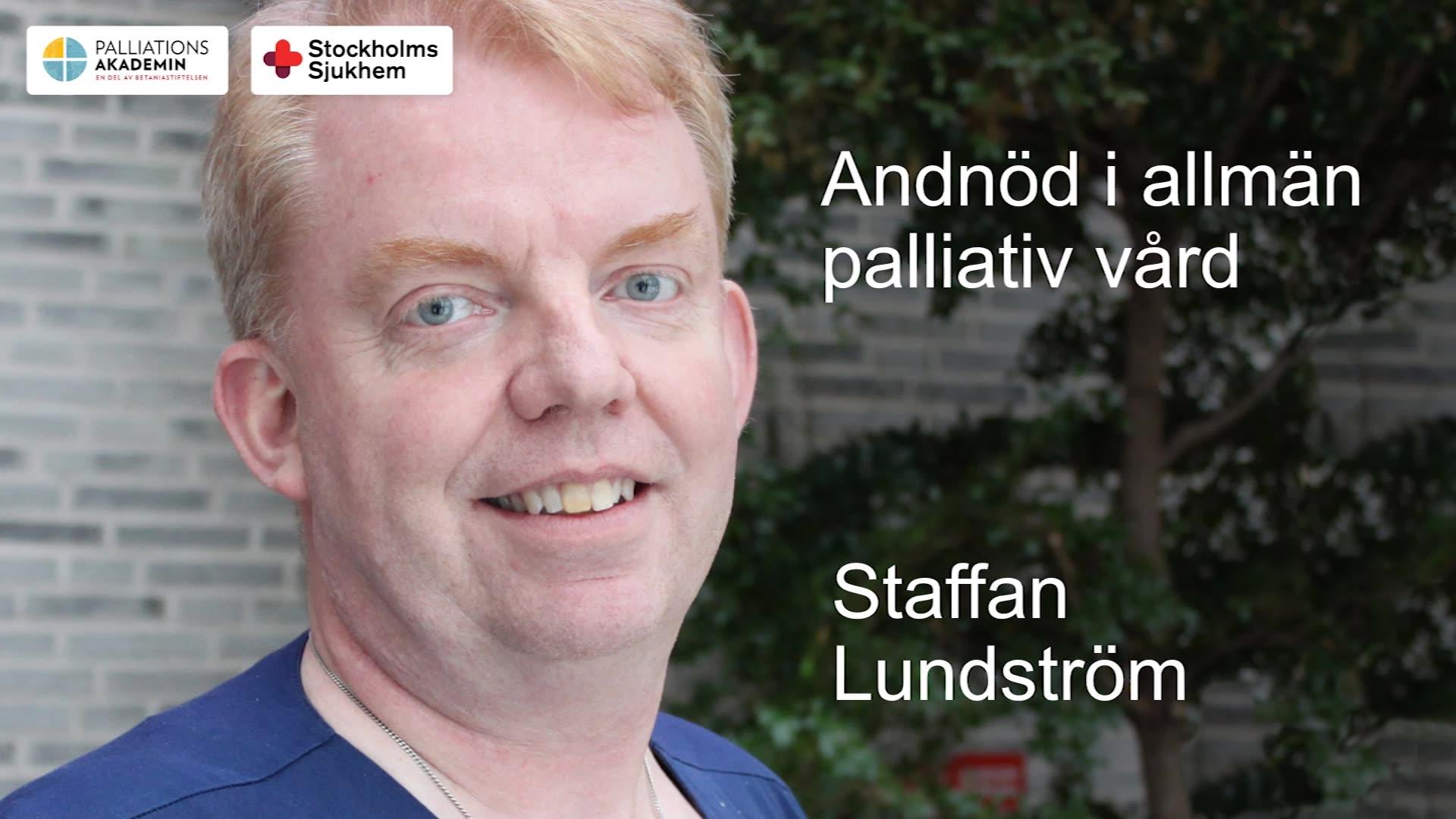 Andnöd och rosslighet i palliativ vård